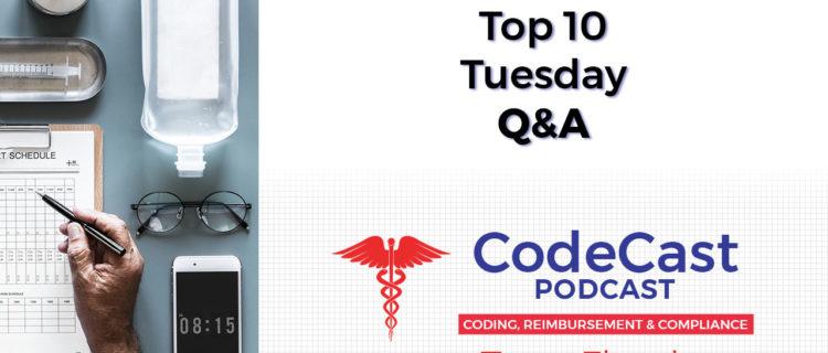Top 10 Tuesday Q&A – March 25th, 2019
