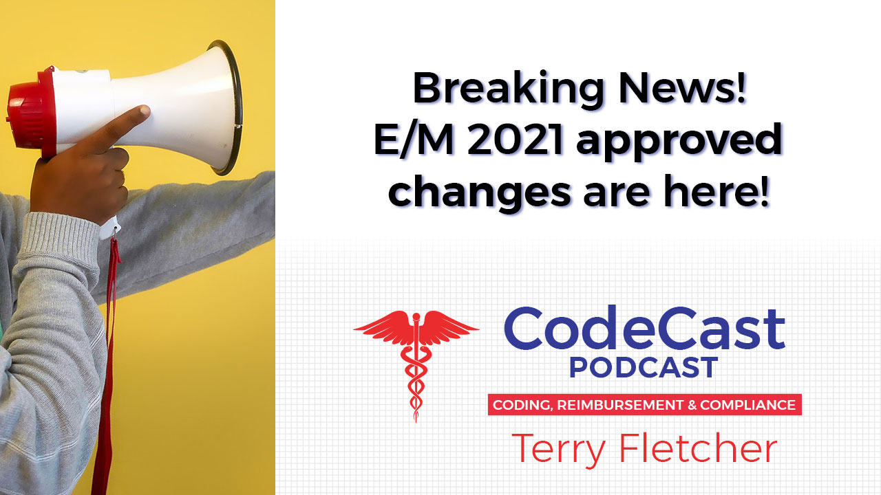 Breaking News! E/M 2021 approved changes are here!