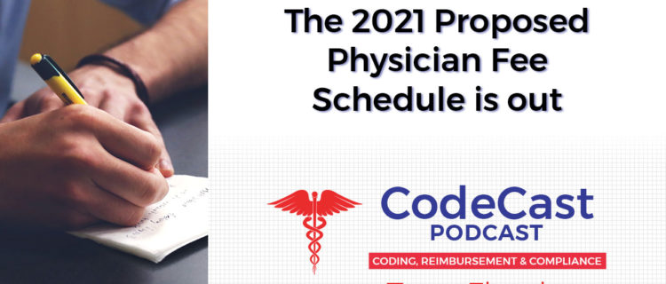 The 2021 Proposed Physician Fee Schedule is out