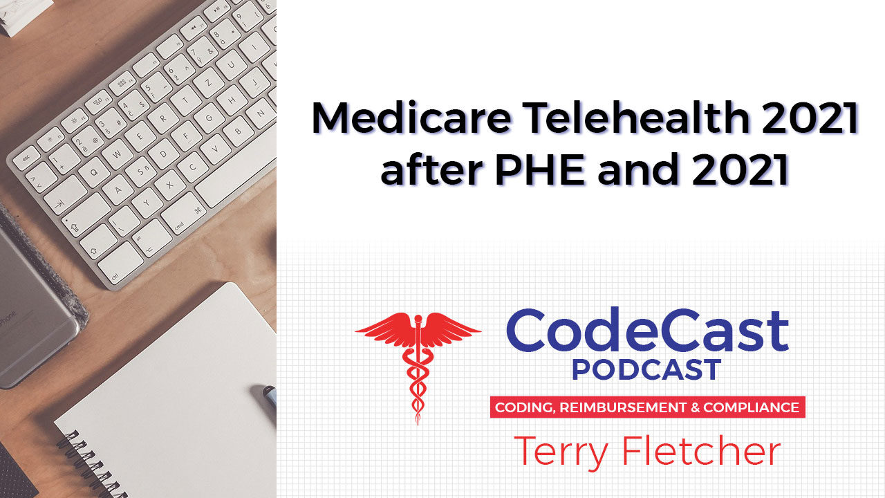 Medicare Telehealth 2021 after PHE and 2021