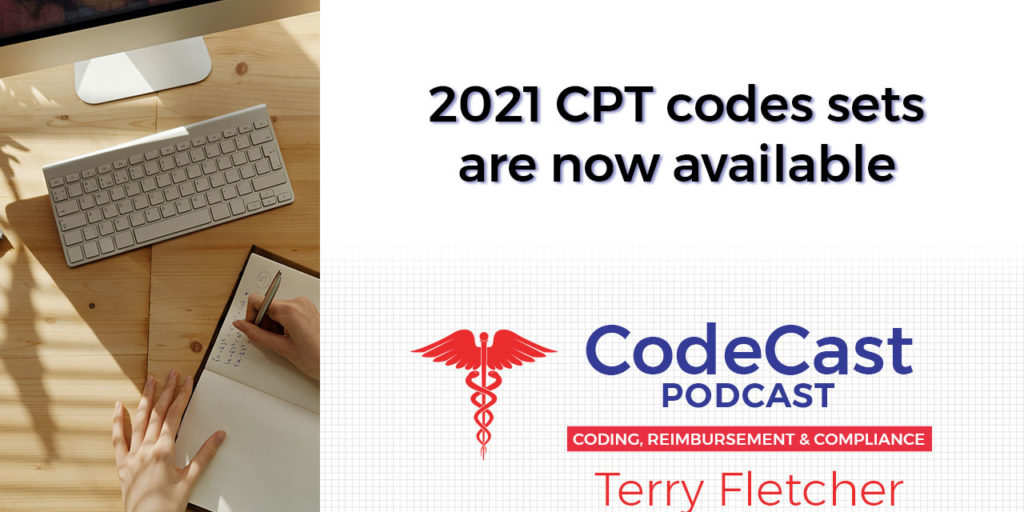 2021 CPT codes sets are now available
