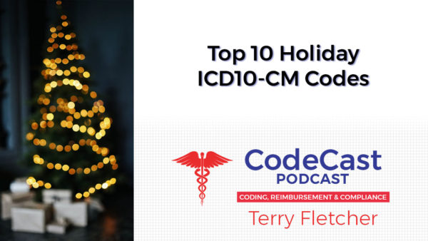 Top 10 Holiday ICD10-CM Codes