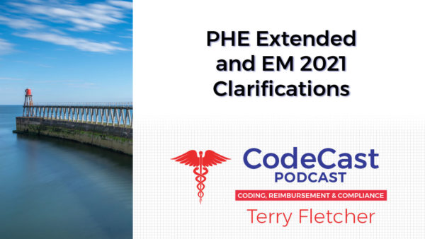 PHE Extended and EM 2021 Clarifications