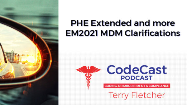 PHE Extended and more EM2021 MDM Clarifications