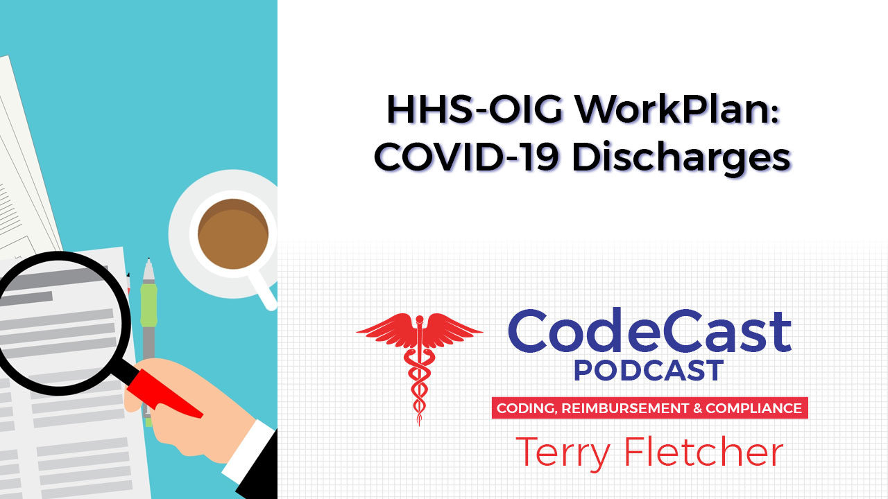 HHS-OIG WorkPlan: COVID-19 Discharges